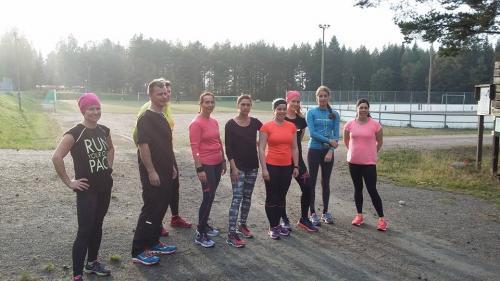 Harjoitukset starttaamassa, 2016